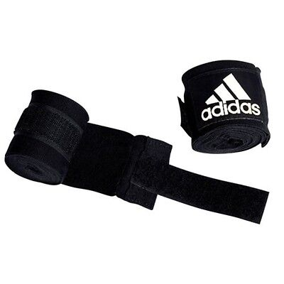 Adidas Hand Wraps - Black - Boxing 2.55m Boxing Gloves Accessory Sports Support