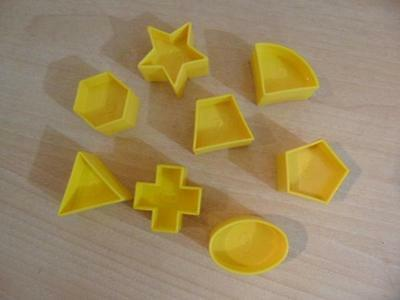 Tupperware Shape O Ball Replacement Parts #2,3,5,6,7,8,9,10