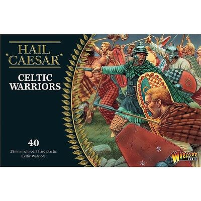 Pack Of 40 Celtic Warrior Miniatures - Warlord Games Hail Caesar Ancient Celts