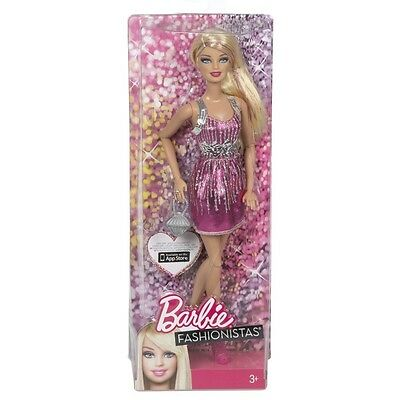 Barbie Fashionista Barbie (pink) (y7487) (japan Import) - Doll Dolls Action