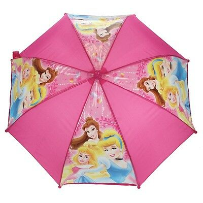 Disney Princess Happily Ever After Umbrella - Official Pink Girls Kids Pinch