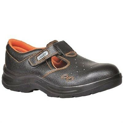 Portwest Ultra Safety Perforated Shoes Boots Hook & Loop Closing Workwear FW86