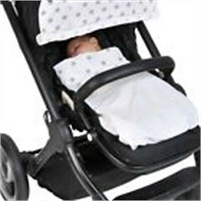 Dooky Dooky Blanket Silver Stars - Silver Stars Baby Car Seat Pram Carrycot