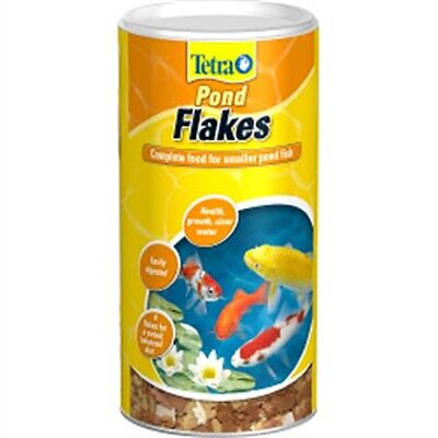 190g Tetra Pond Flaked Fish Food - 180g Flake Flakes Gold