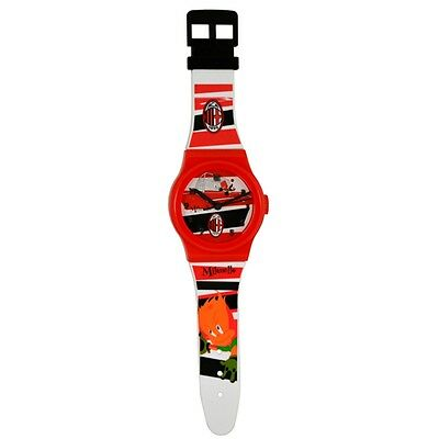 Ac Milan Crest Jumbo Watch - Official Football Club Fc Souvenir Accessory Gift