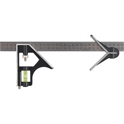 12'' Combination Square Level & Scriber - Supatool 12'' Measuring Tools