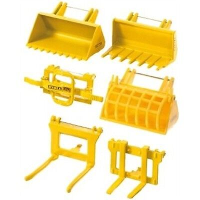 1:32 Siku Accessories For Front Loader Tractor - Miniature Replica Toy Model