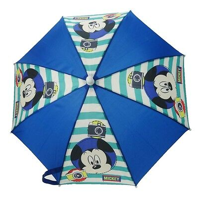 Disney Mickey Mouse Umbrella - Super Waterproof Open & Close Folding Compact