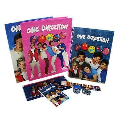 One Direction Stationery Set - 11 Pieces - Season 13 Piece Free Pp Disney Kids