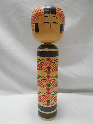 Kokeshi Japanese Doll Vintage Wooden Doll Traditional Style #396