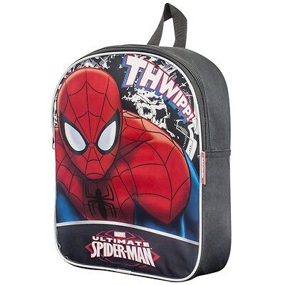 Spiderman Backpack School Bag Spider Man Theme Bags (one)