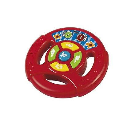 Smoby Abc Steering Wheel - Toy Babies Baby Game Infant Fun