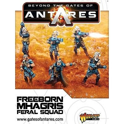 Beyond The Gates Of Antares - Freeborn Mhagris Feral Squad