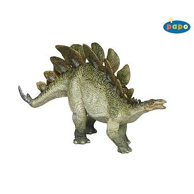 Papo Stegosaurus Dinosaur - Figure By High Quality Detailed Plastic Figure Toy