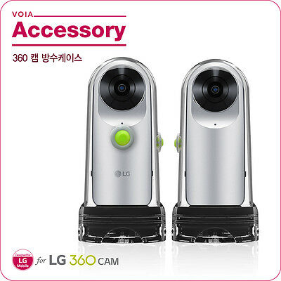 NEW ARRIVAL! VOIA Waterproof Case For LG 360 Cam R105/Transparent/Easy Grip/IP68