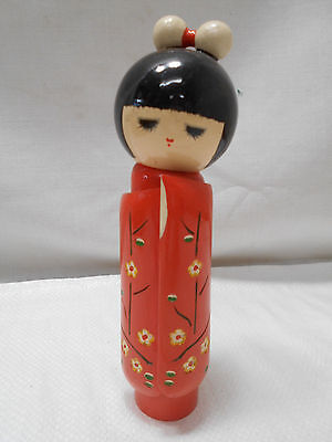 Kokeshi Creative Style Wooden Japanese Doll Vintage  #405