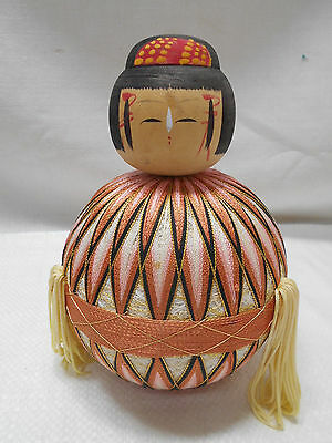 Kokeshi Creative Style Wooden Japanese Doll Vintage Girls Day doll  #407