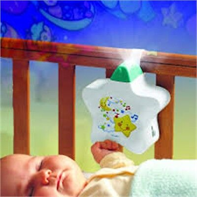 Tomy Starlight Dreamshow White - Cot Crib Night Light Projector Mobile Toy Baby
