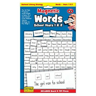 Years 1 & 2 Magnetic Words & Board Game - & Fiesta Crafts - Childrens Learning