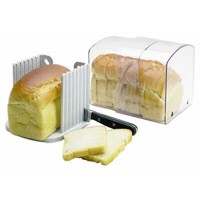 Expanding Stay Fresh Acrylic Bread Keeper - Kitchencraft Cutting Cutter Slicer