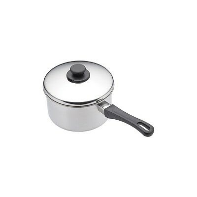12cm Stainless Steel Extra Deep Saucepan And Lid - Kitchen Craft & Efficient