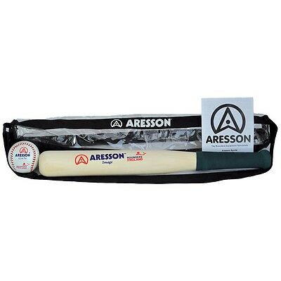 Rounders Bat & Ball Set In Carry Case - Aresson Image New Softy Pack Outdoor