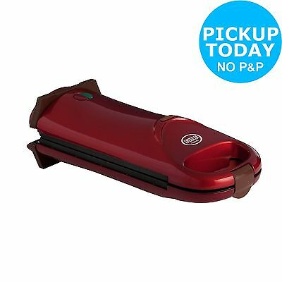 American Originals Flip Over Waffle Maker - Red -From the Argos Shop on ebay