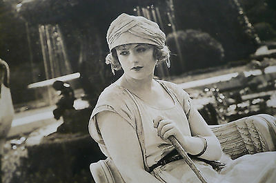 1920's Photograph of Woman in a Park. Australia?