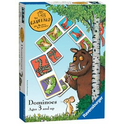 Gruffalo Dominoes Kids Game - The Set Age 3 Children's Matching Toy
