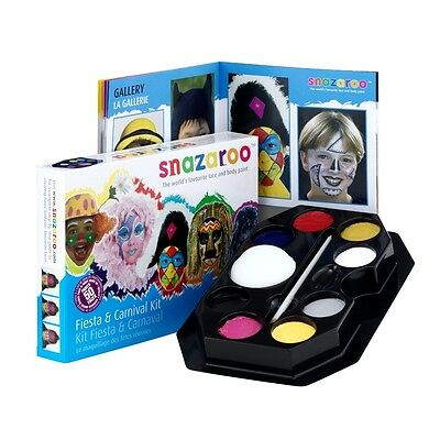 Snazaroo Face Paint Palette Kit, Fiesta And Carnival