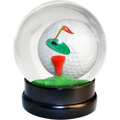 Golf Globe Ball With Tee Game - Snow Golfers Golfing Gift Office Desk Dad