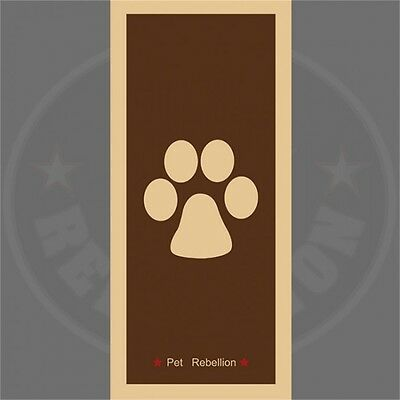 Brown Dog's Stop Muddy Paws Mat - Pet Rebellion A Dog Runner Machine Washable