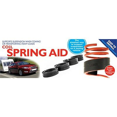 39-51mm Black Coil Spring Aid - High Density Rubber Towing 39mm 51mm