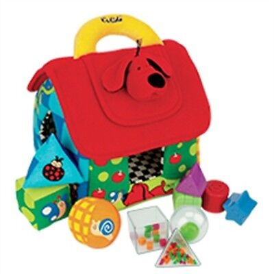 K's Kids Deluxe Patrick Shape Sorting House Baby Activity - Childs Fun Game