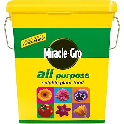 2kg Miracle Grow Plant Food Tub - Gro All Purpose Soluble Feeding Growing