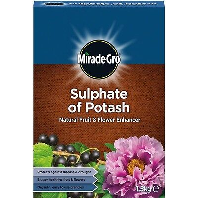 1.5kg Miracle Gro Sulphate Of Potash - Potasium Plant Vegetable Food Growing