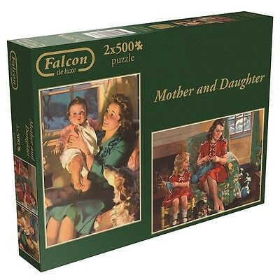 2x500 Piece Mother & Daughter Jigsaw Puzzles