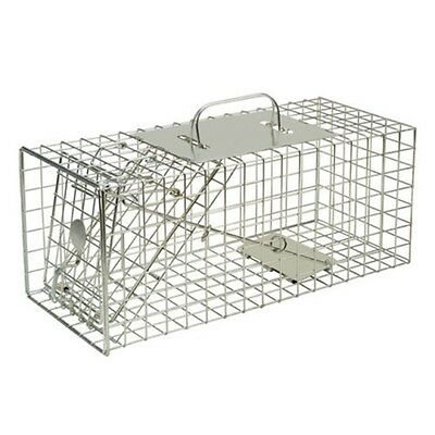 Small Animal Squirrel Cage Trap - Defenders Size Rabbits Catcher Garden