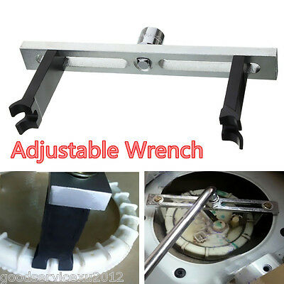 Portable Metal Car Fuel Pump Lid Tank Cover Remove Spanner Adjustable Wrench Kit