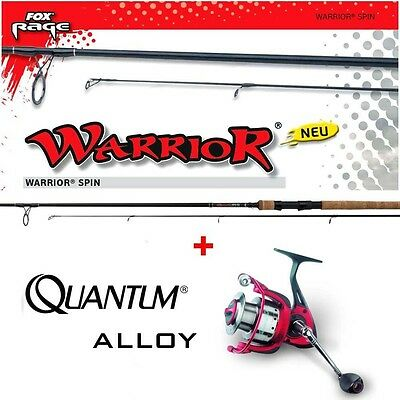 Fox RAGE WARRIOR Spin 2,70m Fox Wg: 15-50g + Quantum Alloy AL40F