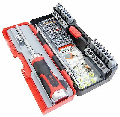 CONNEX COXB973943 Ratchet Screwdriver Set (43 Pieces)