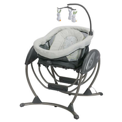 Graco DreamGlider 2 in 1 Gliding Swing & Sleeper - Rascal