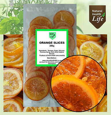 Beautiful Full Taste Glace/Candied Orange Slices - 250g
