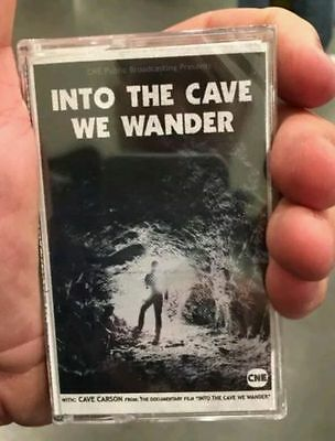 Into The Cave We Wander Cassette  Comic Con Gerard Way My Chemical Romance 2016