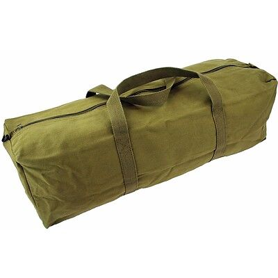 61cm Olive Heavy Weight Tool Bag - Highlander Hold All Green Military Travel