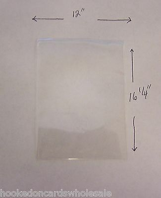 """25 loose, not packaged Newspaper Sleeves Holders Protection 12 x 16-1/4"""""""