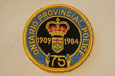 Canadian Ontario Provincial Police Patch Obsolete