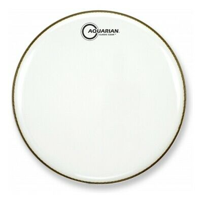 """Aquarian Drumheads 24"""" Classic Clear White CC24WH   Schlagzeugfell  """