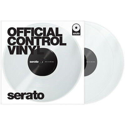 Rane Serato Scratch Live Performance Timecode Vinyl clear (Paar)
