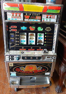 Vintage Golden Bell Pachislo Japan Slot Machine Grandview Products Japan